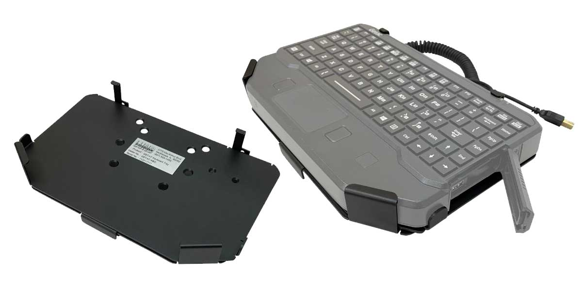 NEW Getac Keyboard Mount…From Lund Industries, Inc