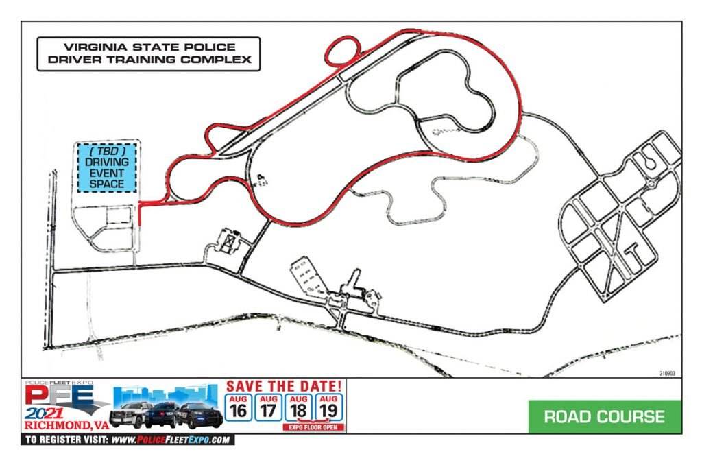 PFE 2021 road course graphic